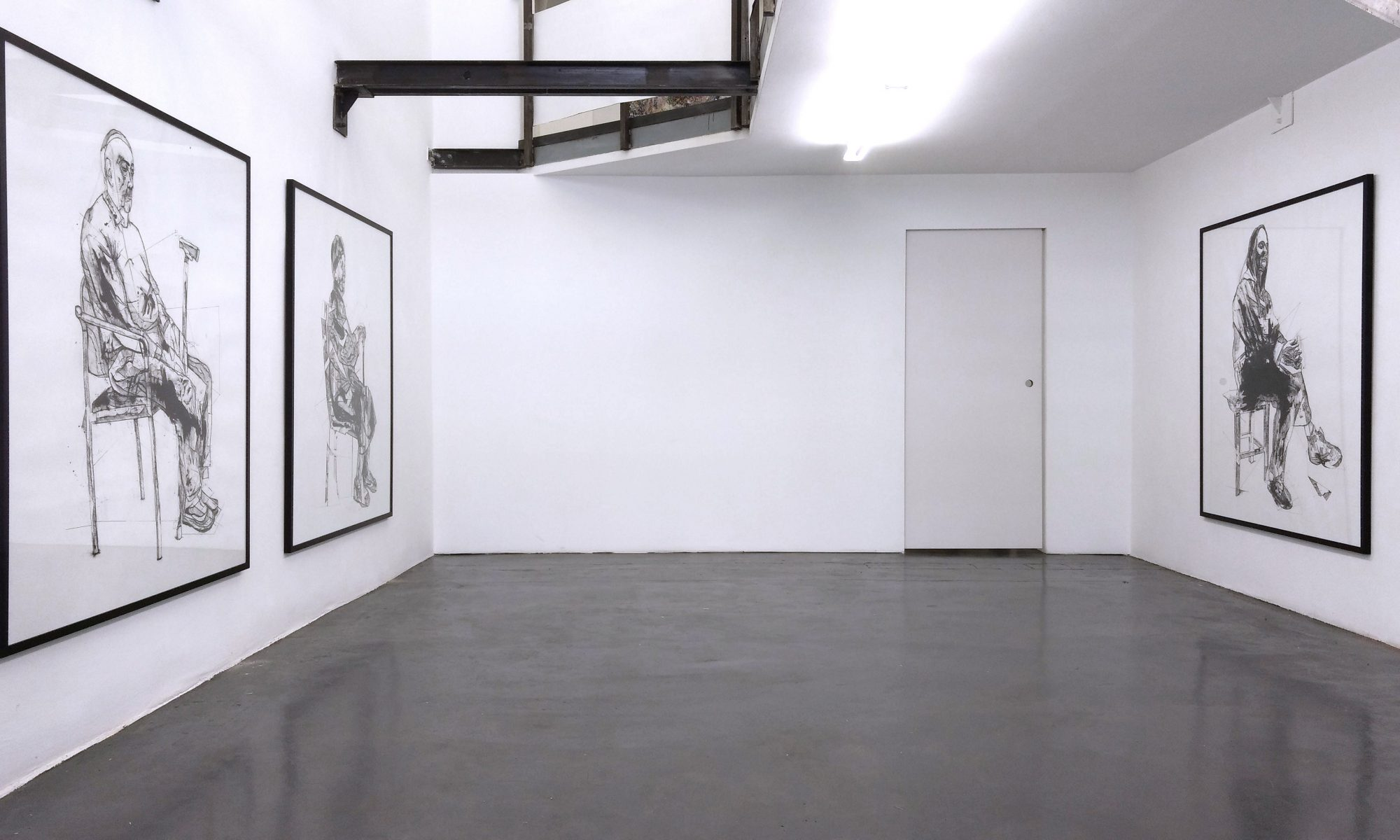 Installation View, Christian Bazant-Hegemark, unttld contemporary Vienna, 2019